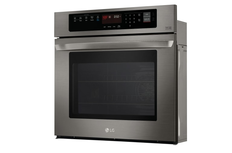 Angled Black Stainless Steel Series 4.7 cu.ft. Built-In Single Wall Oven