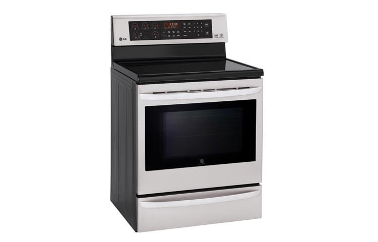 LG Wall Ovens & Ranges LRE6387ST thumbnail 2