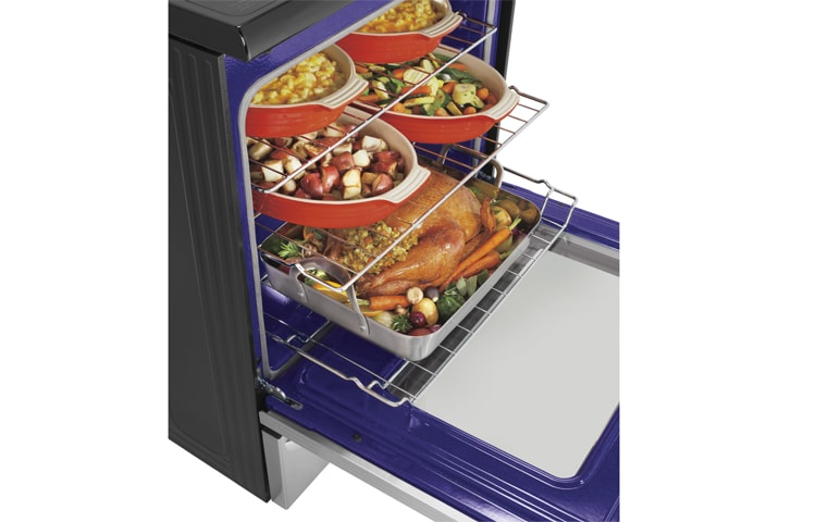 LG Wall Ovens & Ranges LRE6387ST thumbnail 8