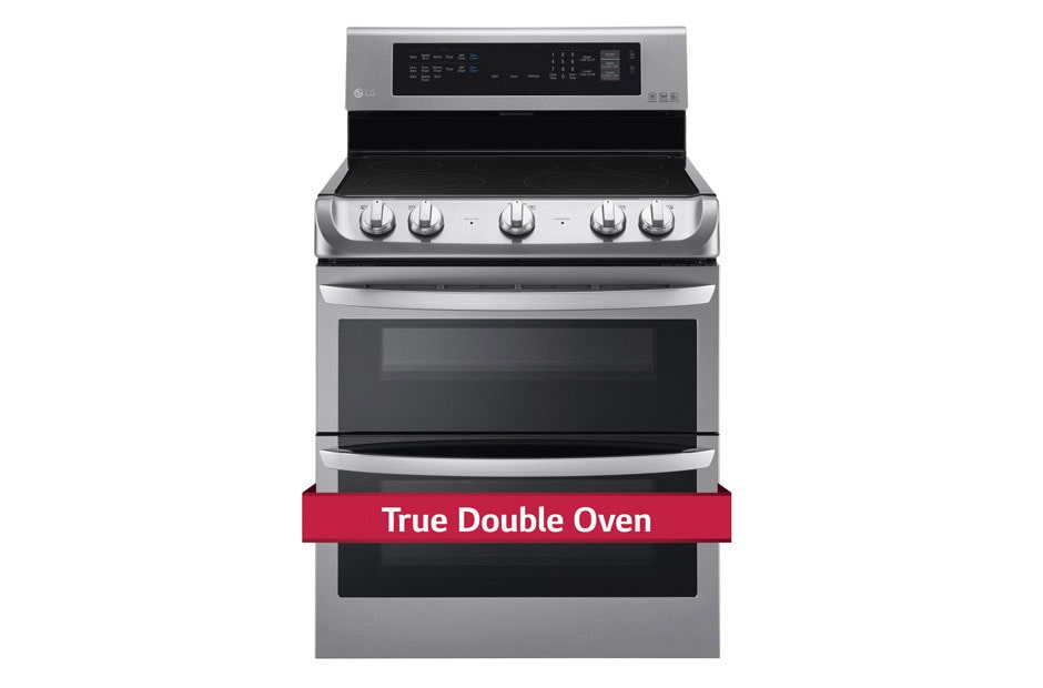 Electric True Double Oven Range With Probake Convection And Easyclean