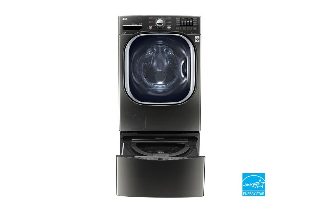 Lg 4 5 Cu Ft Ultra Large Capacity Turbowash Washer W Nfc