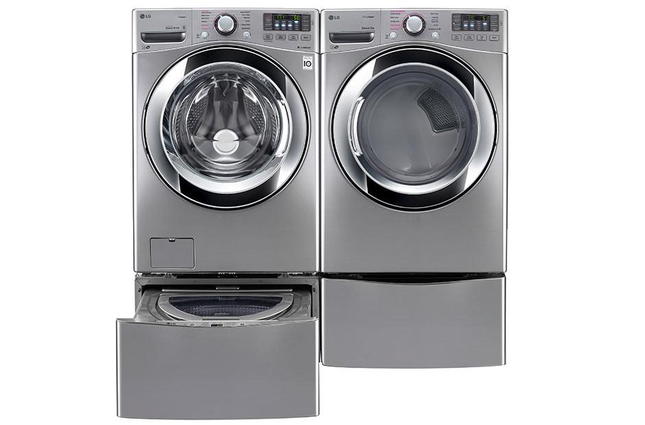 lg 6 3 total capacity lg twinwash u2122 bundle with lg sidekick