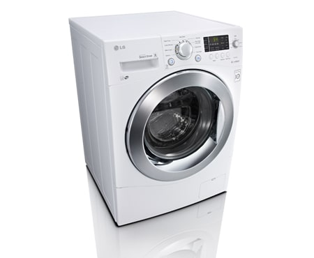 LG 24 inch Compact Size Front Load Washer WM1377HW: 24 inch, 2.6 ...