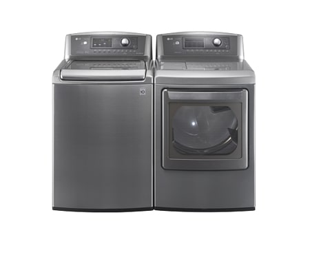 Lg Washers Wt5170hv High Efficiency Top Load Washer With Waveforce Canada