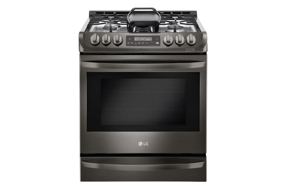 LG Cuisinière au gaz encastrable de 6,3 pi3 avec système ProBake ...