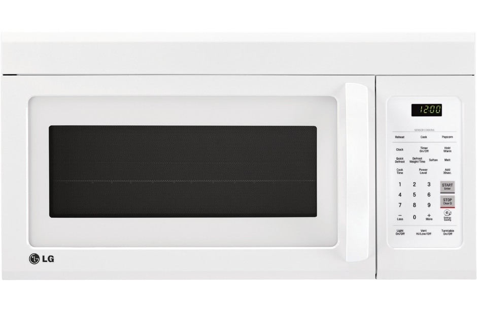 LG Micro-ondes Fours-hottes LMV1852SW: Micro-ondes four-hotte de 1 ...