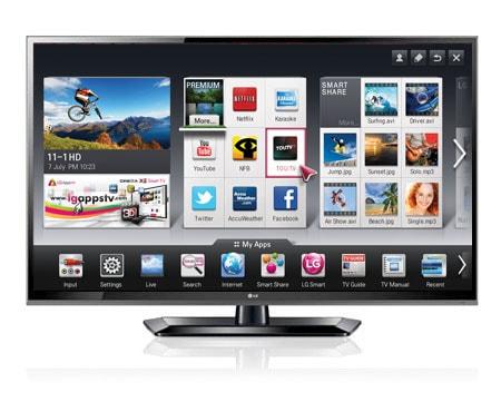 smart tv le plus r cent t l viseur del lg 55ls5700 smart tv avec t l commande magic motion. Black Bedroom Furniture Sets. Home Design Ideas
