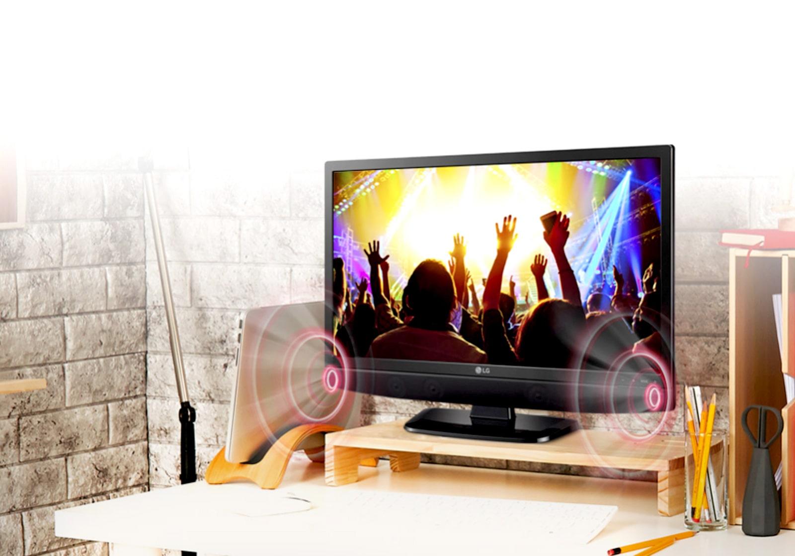 Tv Led Lg 24mt48af tv monitor lg 24mt48af hd led soporte de pared usb