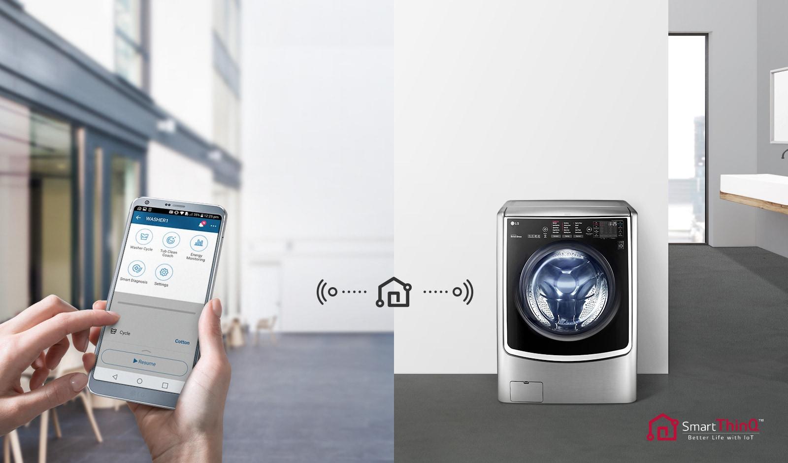 Lavado Inteligente con Wi-Fi3