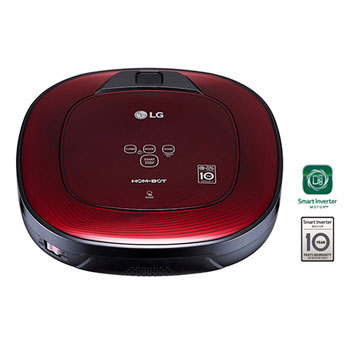Robot Aspiradora Hombot con Motor Smart Inverter, Color Ruby Red1
