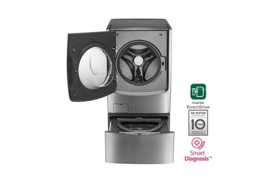 Lavadora carga frontal motor inverter direct drive 25kg - Opiniones lavadoras lg ...