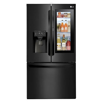 30 pᶟ |InstaView™ Door-in-Door®|French Door|NatureFRESH™ |Compresor linear inverter |Negro Mate |ThinQ™ (Neto: 28 pᶟ)1