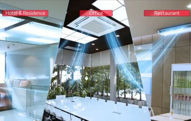 Lg Outdoor Unit Auuq48gh1 Ceiling Concealed Duct