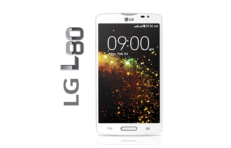 "Cell Phones LG L80, IPS FOR SMARTPHONE SCREEN 5.0 ""ANDROID 4.4 KITKAT, PROCESSOR DUAL CORE OF 1.2 GHZ, 8MP CAMERA AND BATTERY 2540MAH Available in Panama thumbnail 1"