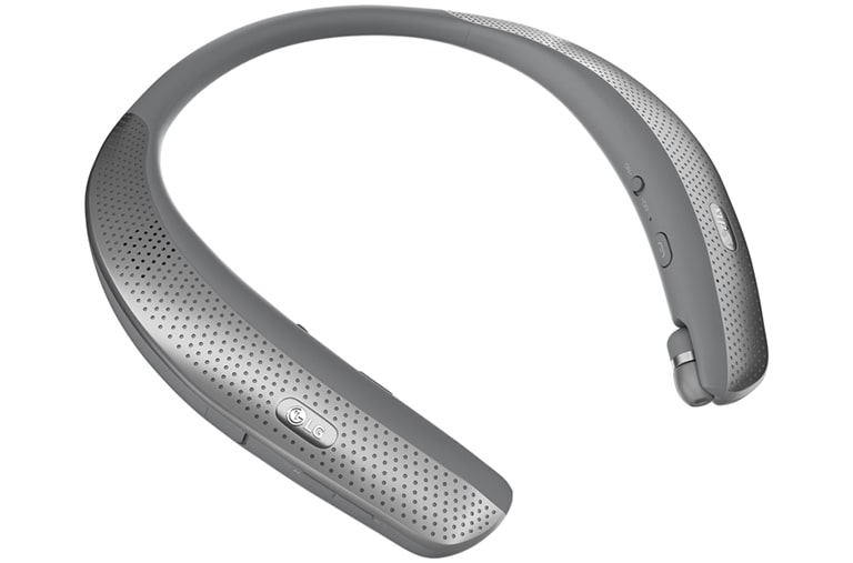 Mobile Accessories LG TONE Studio™ Bluetooth® Wearable Personal Speaker Headset thumbnail +1