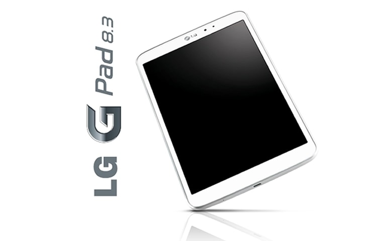 "LG G PAD 8.3 TABLET FEATURES A BEAUTIFUL 8.3"" FHD DISPLAY AND A POWERFUL QUAD-CORE PROCESSOR, WHICH ALLOWS YOU TO MULTITASK EFFICIENTLY WITH A SUITE OF INTUITIVE FEATURES. thumbnail +4"