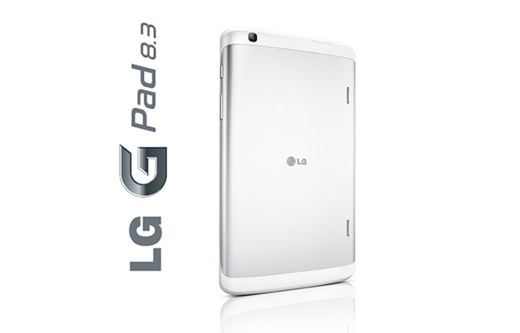 "LG G PAD 8.3 TABLET FEATURES A BEAUTIFUL 8.3"" FHD DISPLAY AND A POWERFUL QUAD-CORE PROCESSOR, WHICH ALLOWS YOU TO MULTITASK EFFICIENTLY WITH A SUITE OF INTUITIVE FEATURES. thumbnail 8"