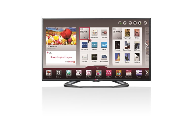 Lg 32 Inch Cinema 3d Smart Tv La613b Lg Central America And Caribbean
