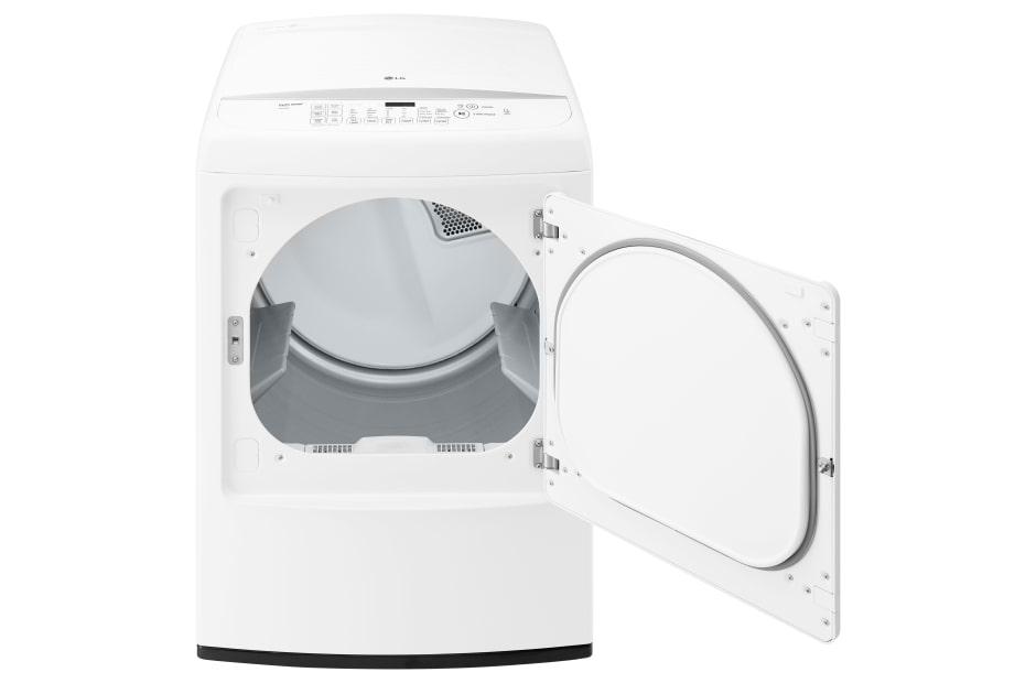 dle1501w dle1501w lg 90 cu ft gas dryer w steam cycles graphite steel