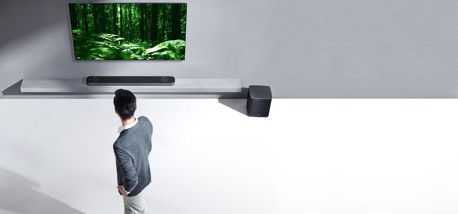 LG SJ9 Dolby Atmos® Soundbar   LG Schweiz