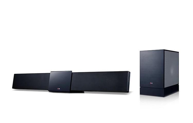 lg bb4330a 3d blu ray soundbar mit 3 1 lautsprechersystem. Black Bedroom Furniture Sets. Home Design Ideas