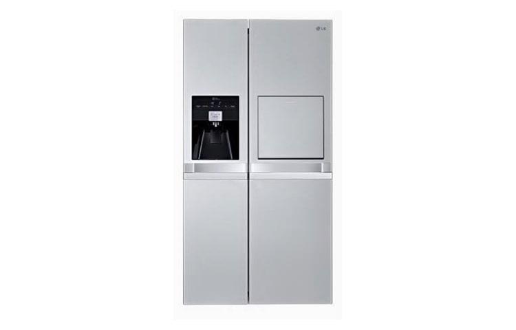 Side By Side Kühlschrank Mit Festwasseranschluss : Lg gsp545pvqv side by side kühlschrank mit festwasseranschluss