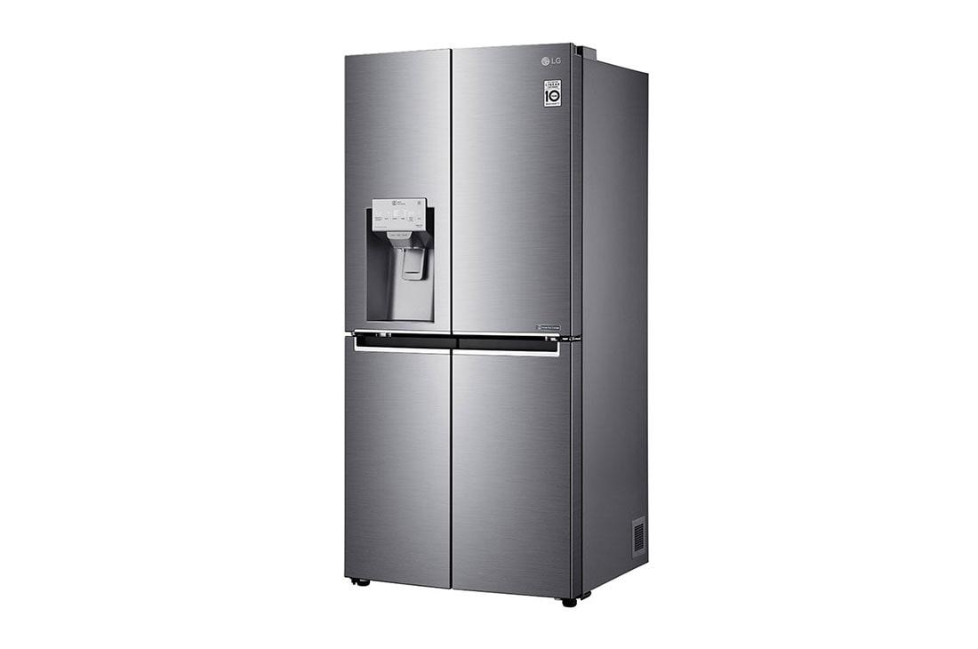 LG GML844PZKZ : Schmaler French-Door-Kühlschrank mit Door ...