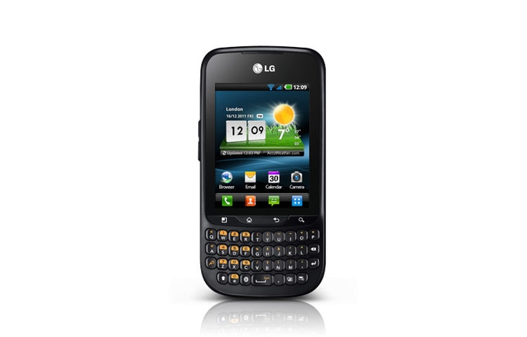 LG Handys & Smartphones OPTIMUS PRO Smartphone mit Full-Touch-Display, Android 2.3 und QWERTZ-Tastatur thumbnail 1