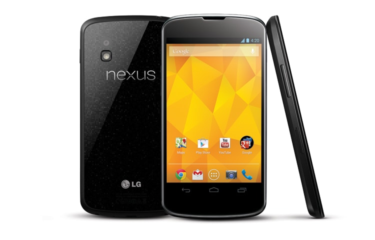 LG Handys & Smartphones NEXUS 4 Google Smartphone mit Android 4.2 Jelly Bean, großem True HD IPS Plus Display und innovativen Qualcomm-Prozessor Snapdragon S4 Pro thumbnail 1