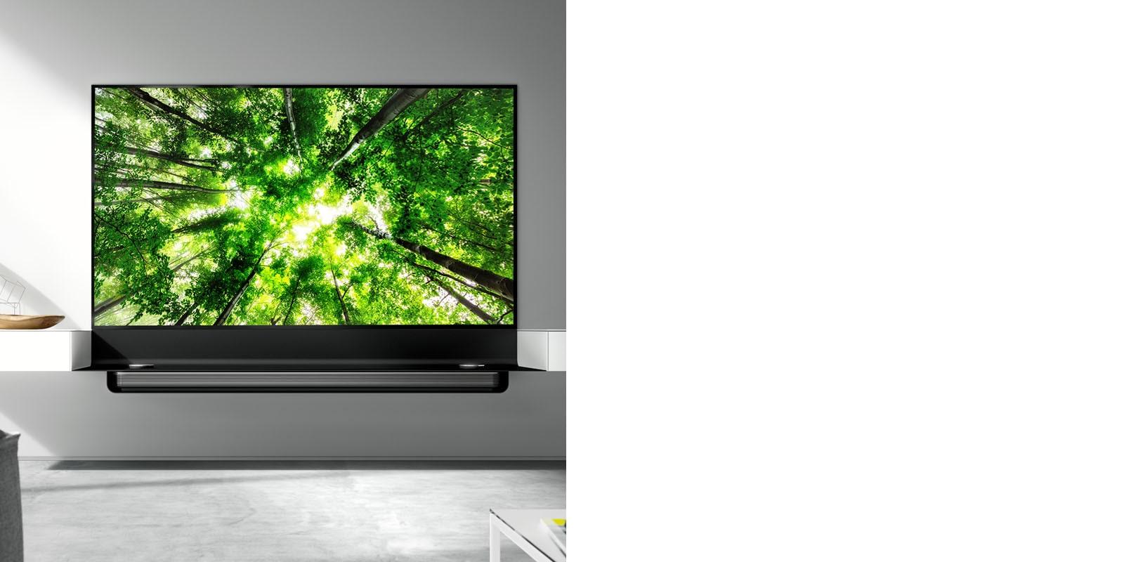 Meuble Tv Avec Barre De Son meuble tv lg x spectral - meuble téléviseur | lg suisse