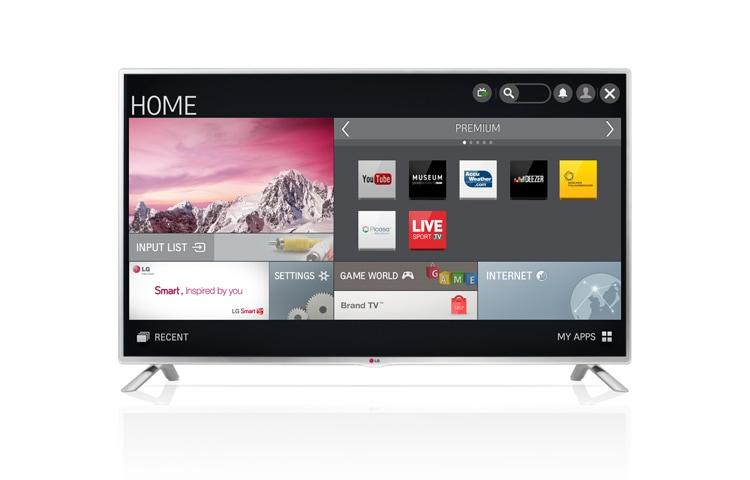 lg 32lb570v smart tv led avec netcast 4 5 et dalle ips avec diagonale d cran de 81 cm 32. Black Bedroom Furniture Sets. Home Design Ideas