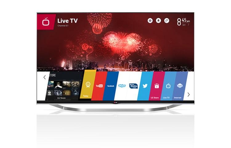 lg 65lb730v smart tv cinema 3d avec webos cran de 165. Black Bedroom Furniture Sets. Home Design Ideas
