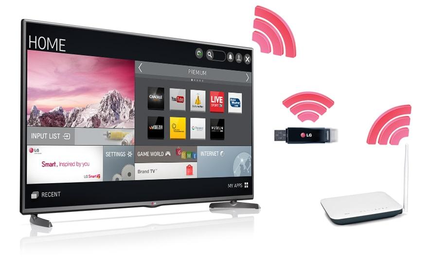 lg 60lb580v t l viseur led smart tv avec dalle ips de 152 cm 60 pouces. Black Bedroom Furniture Sets. Home Design Ideas