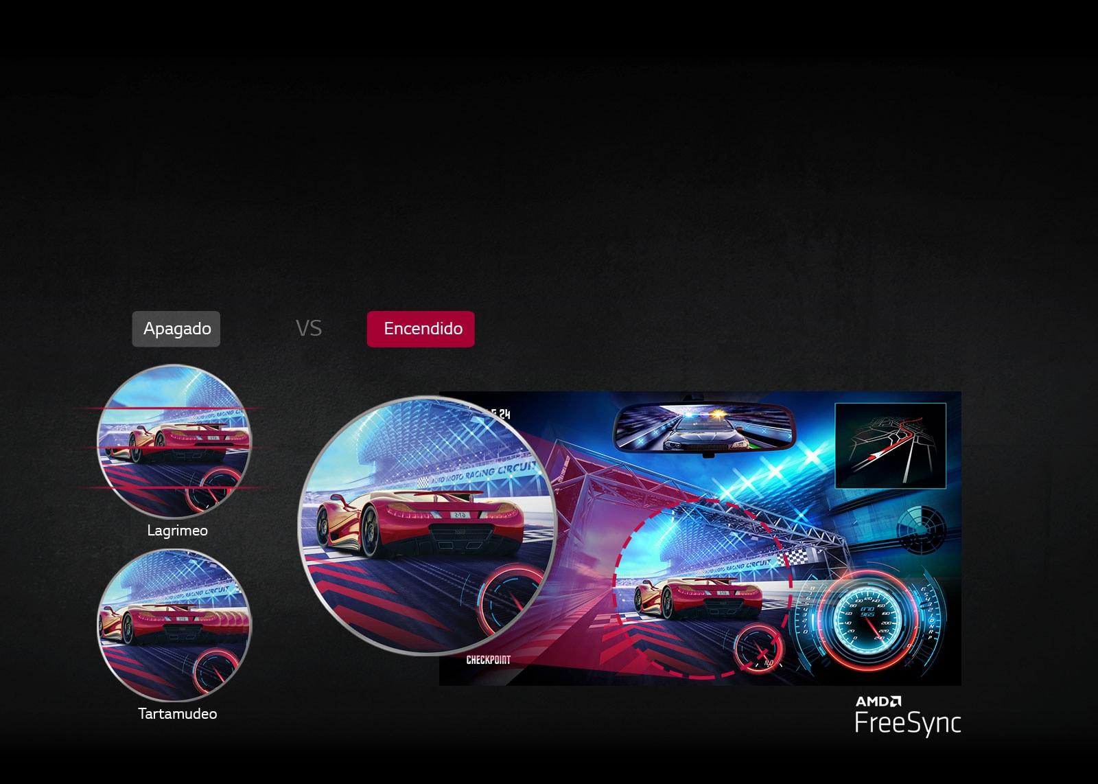 AMD FreeSync™: imagen más clara y suave