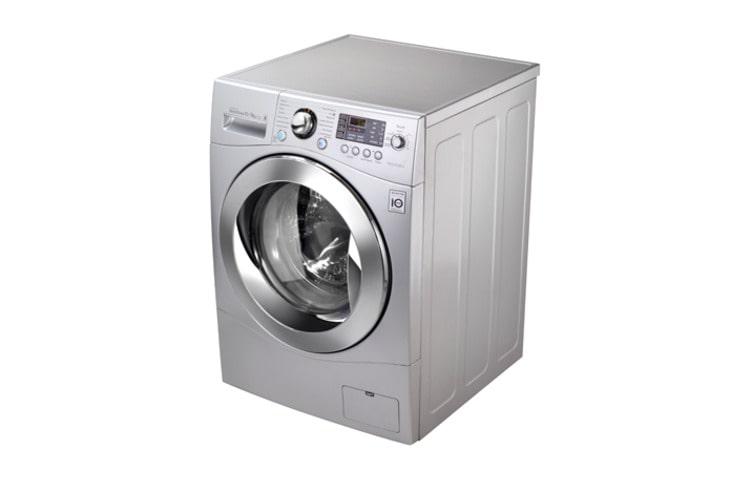 Lavadora secadora de carga frontal 10 kg f1410rd5 lg chile for Cuanto pesa lavadora