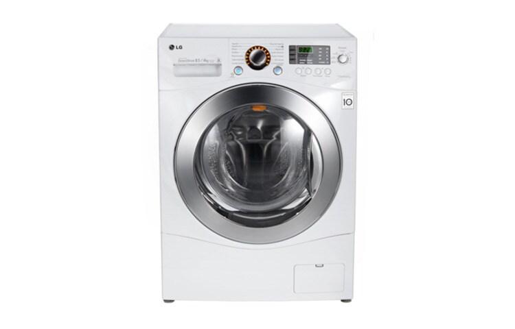 Lavadora secadora de carga frontal 8 5 kg f1485rd lg chile - Mueble para lavadora y secadora ...
