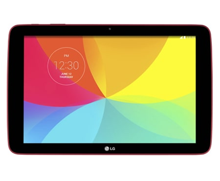LG G Tablet 10.1 Red