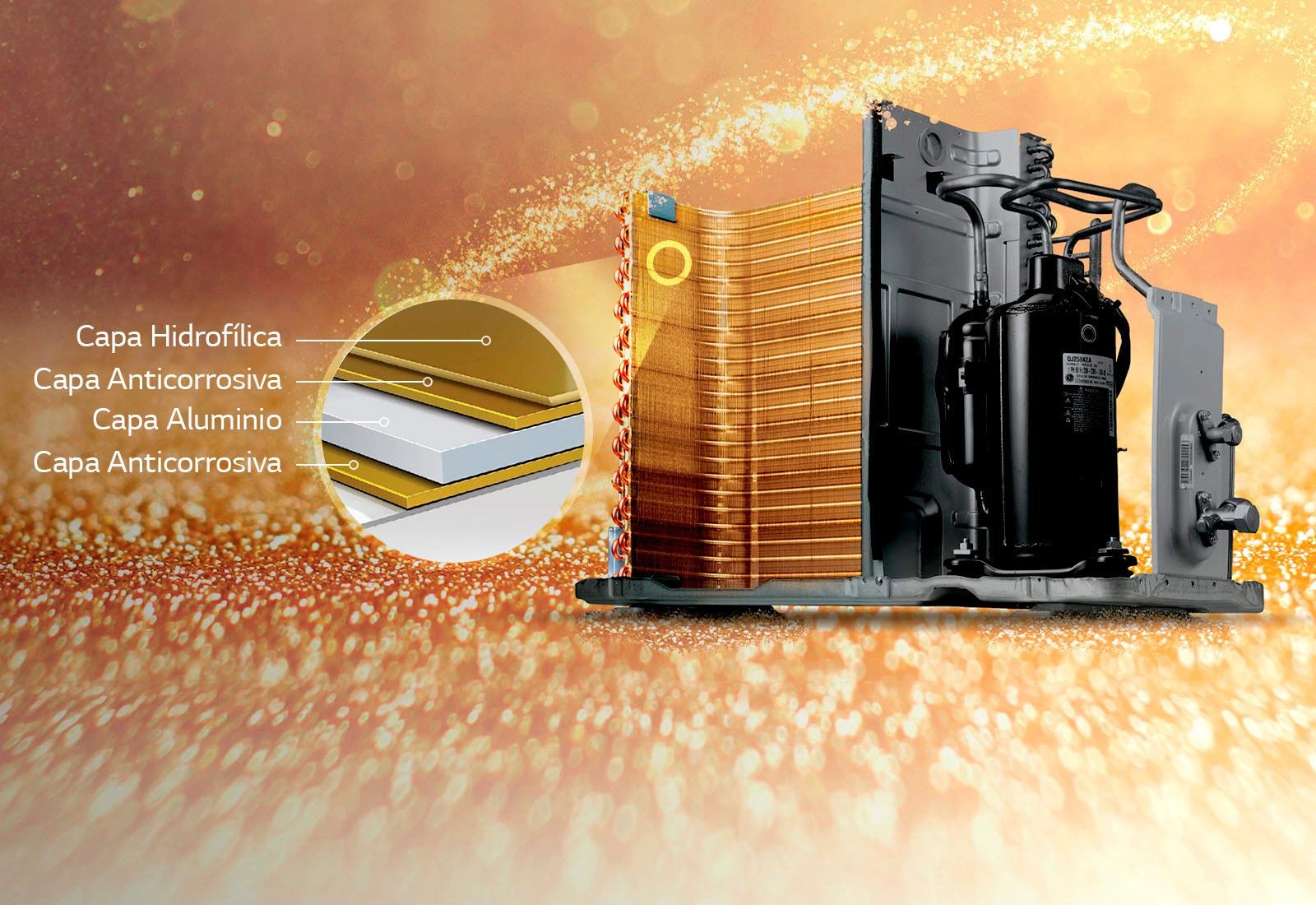 Gold Fin DualCool