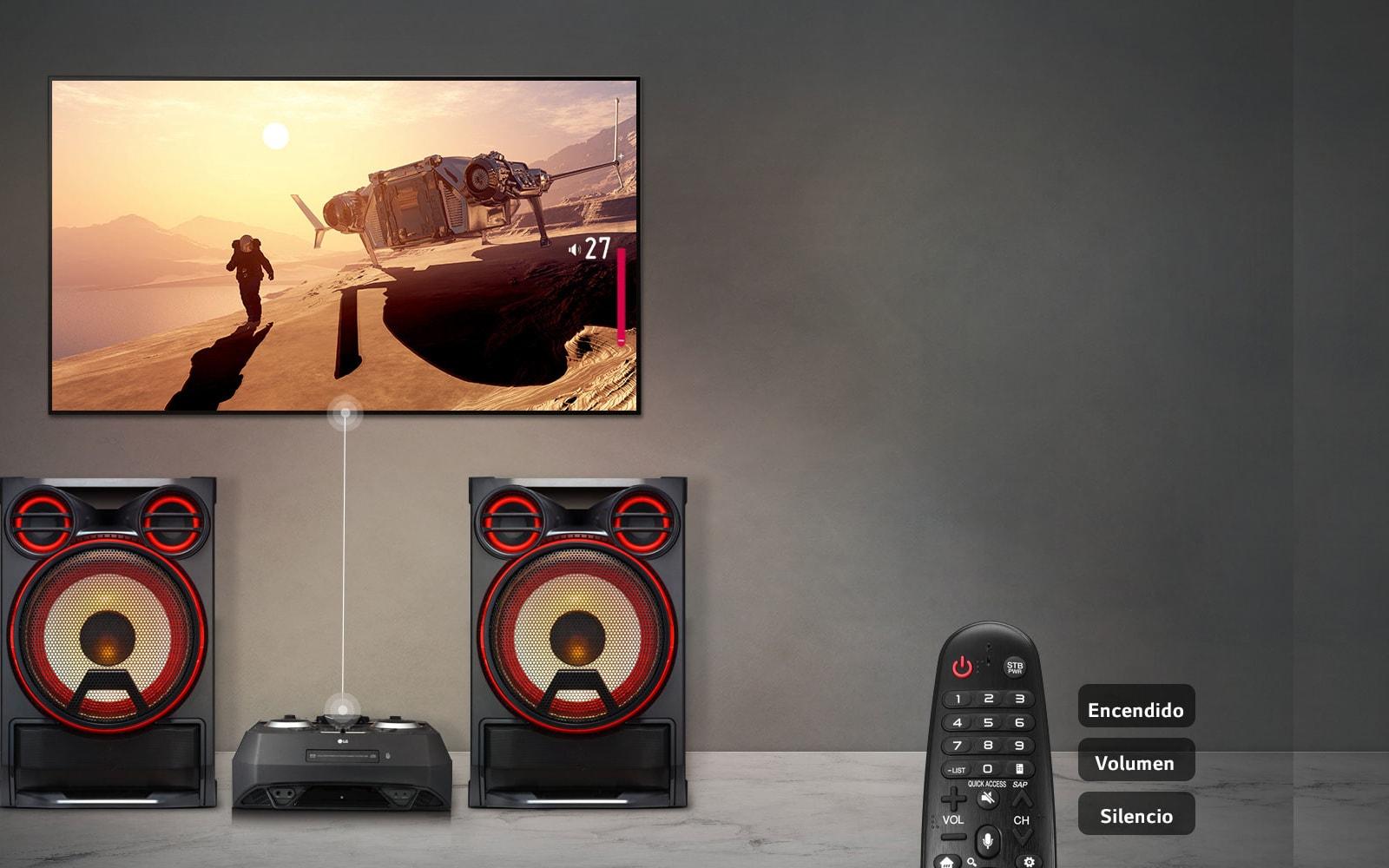 Sincronización de sonido de TV <br> 1