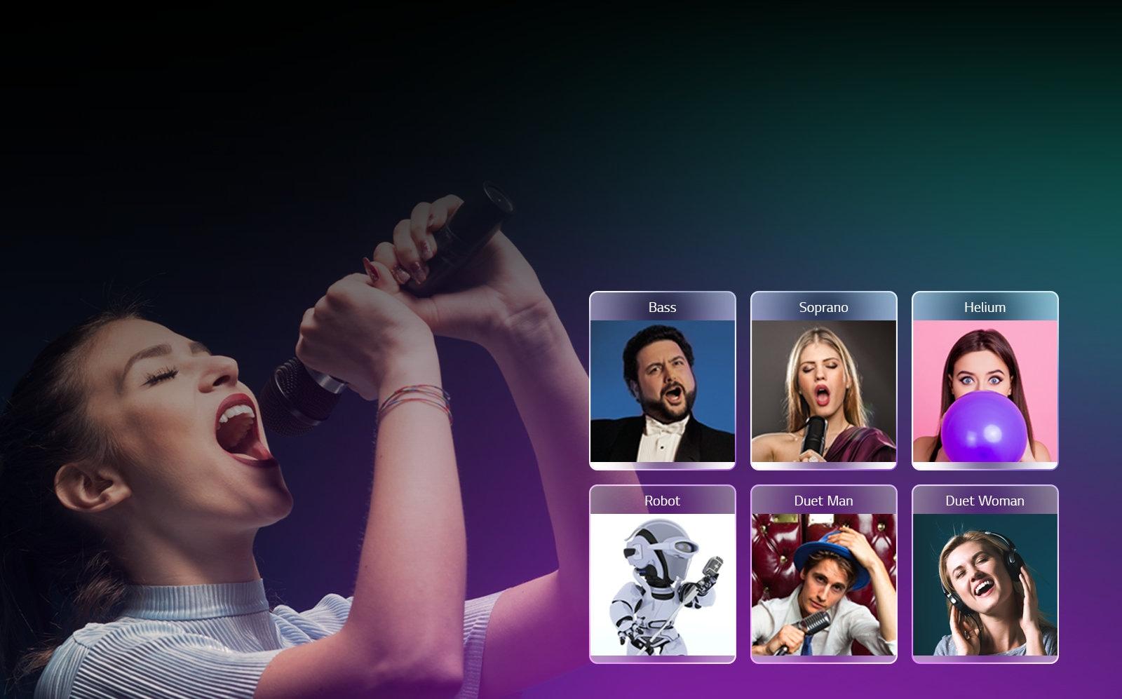 Diviertete cantando con efectos vocales1