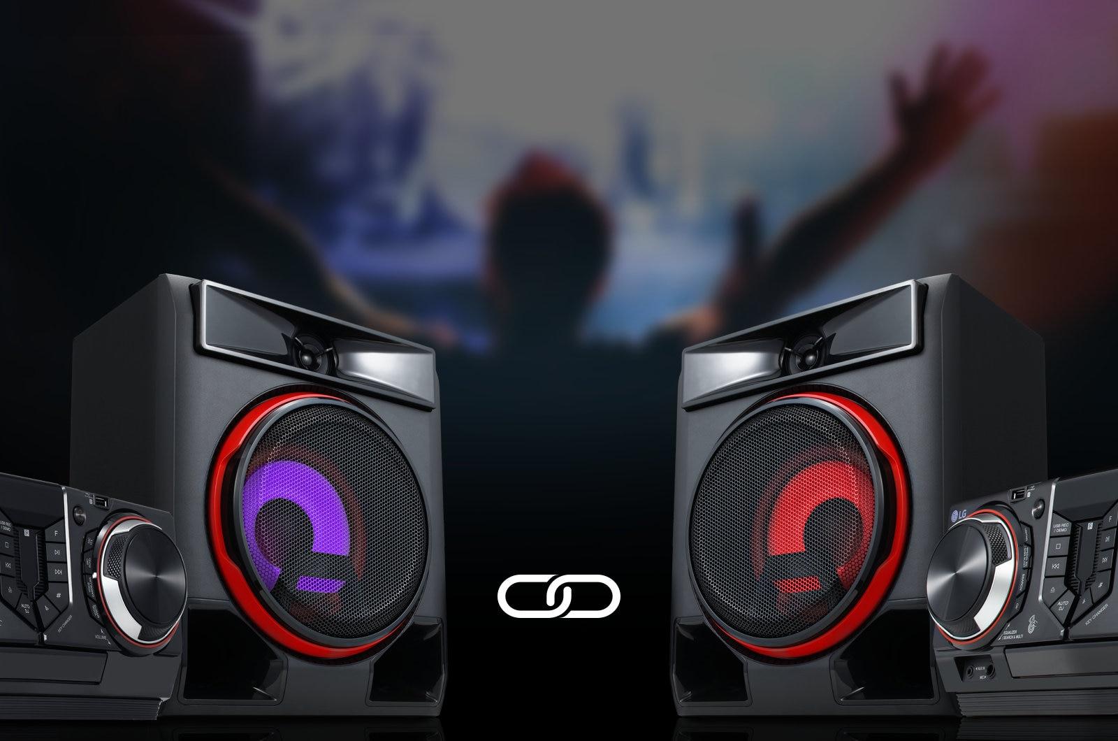 Aumenta el Sonido con Wireless Party Link1