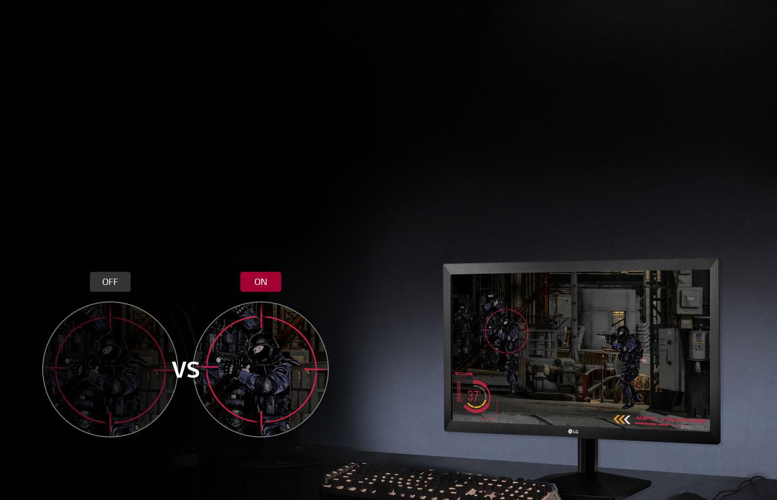 🦂 MONITOR LG FHD 22 PULGADAS ⚡ - productos-nuevos, pantallas, asys-computadores-asyscom - Global 20MK400 2018 Feature 04 BlackStabilizer D V1