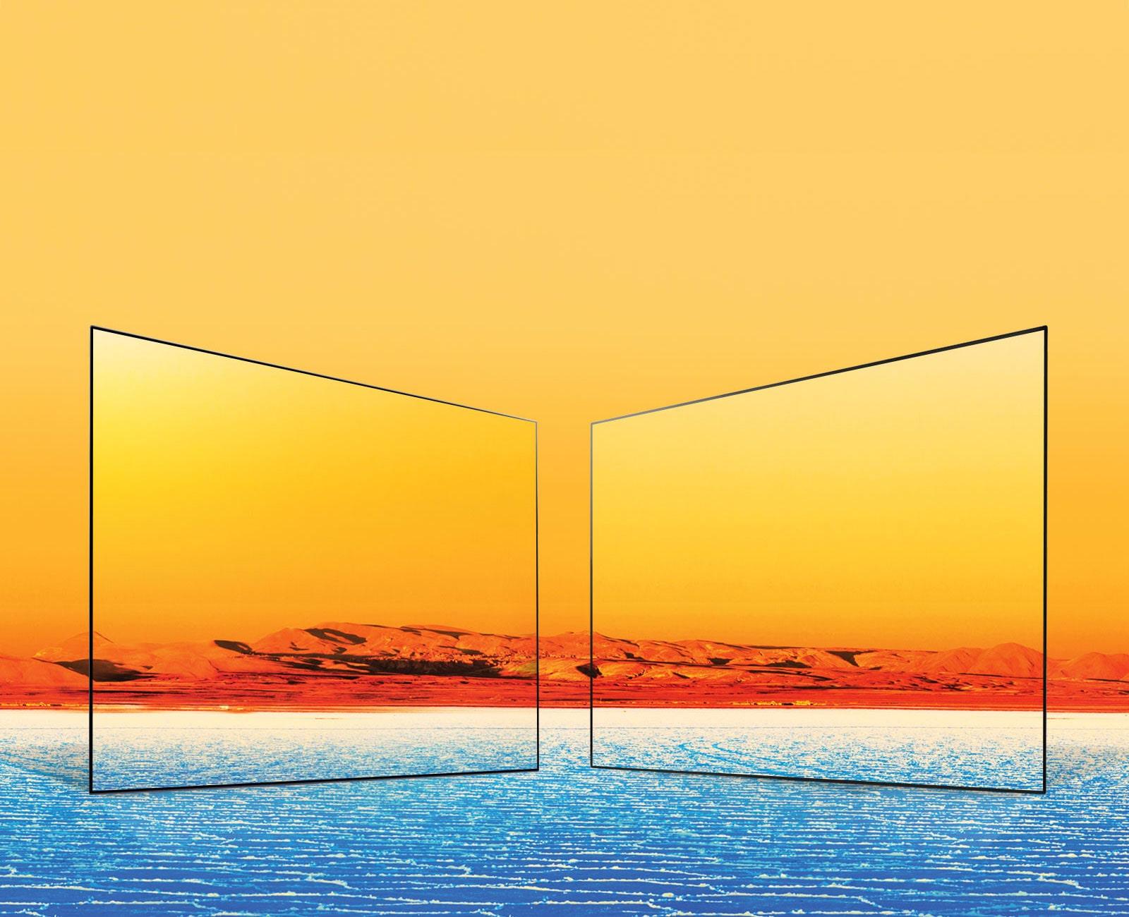 colores ricos y completos LG TV
