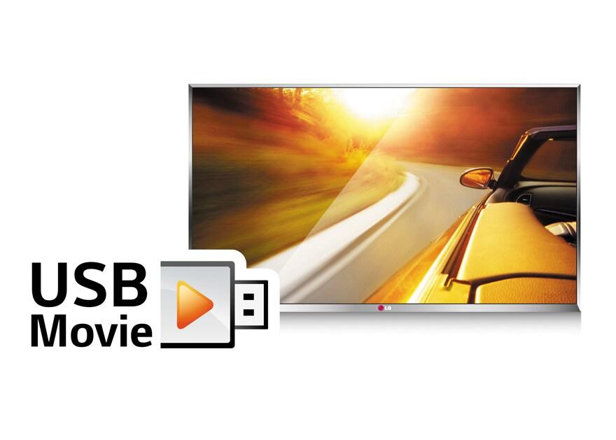Reproduce películas de USB