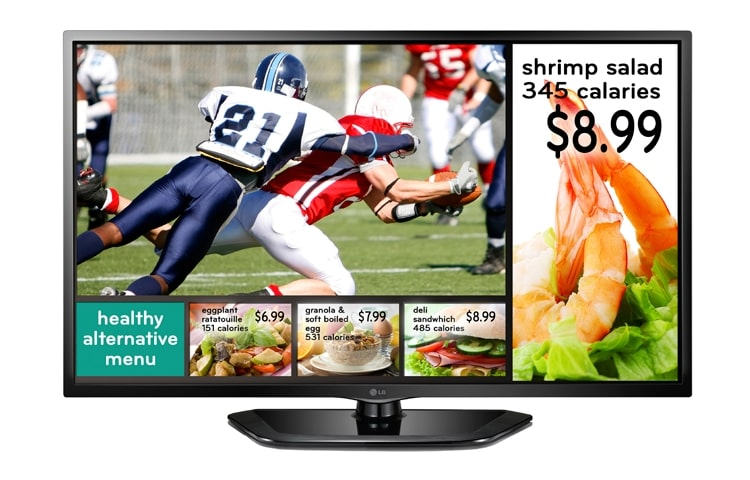 LG Commercial TV 47LN549E thumbnail 1