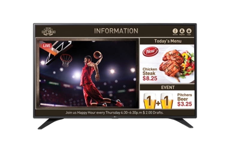 LG Commercial TV 32LW540S thumbnail 2