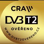 Označení přístrojů splňujících normu DVB-T2/HEVC