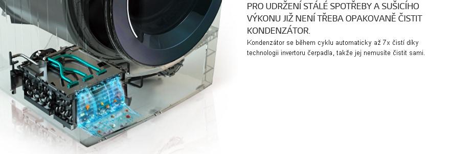 <span>Automatické čištění kondenzátoru</span>