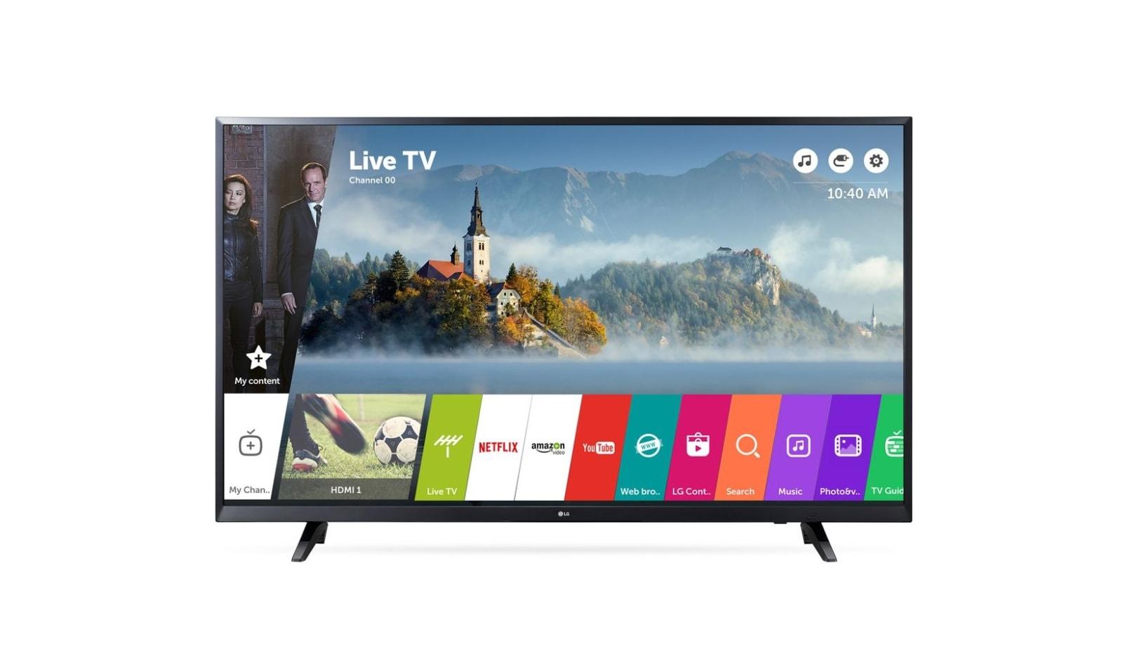 """65"""" UHD TV 4K - 65UJ620V"""