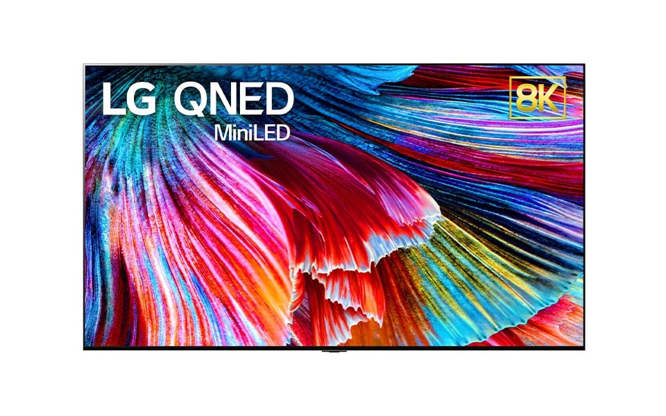 The QNED Mini LED TV developed by LG